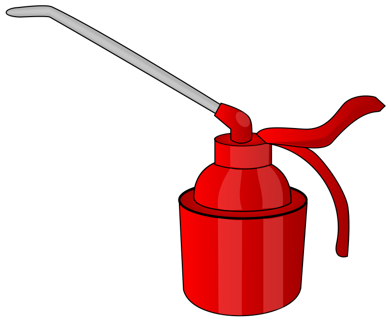 free vector Burette huile
