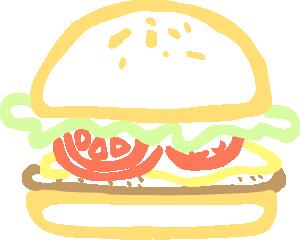 free vector Burger clip art