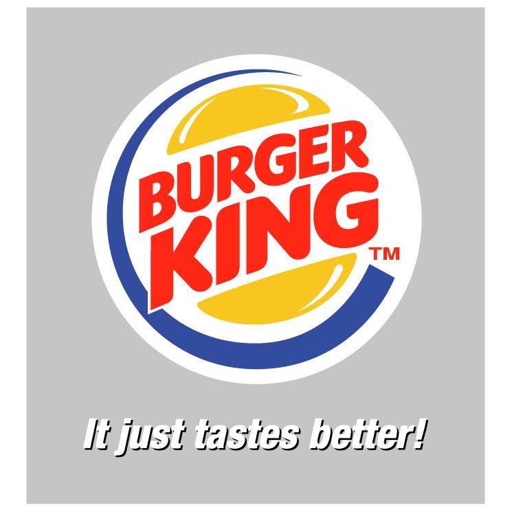 free vector Burger king 4
