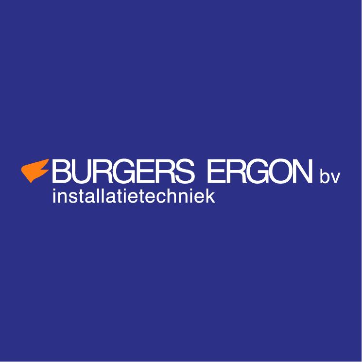 free vector Burgers ergon installatietechniek