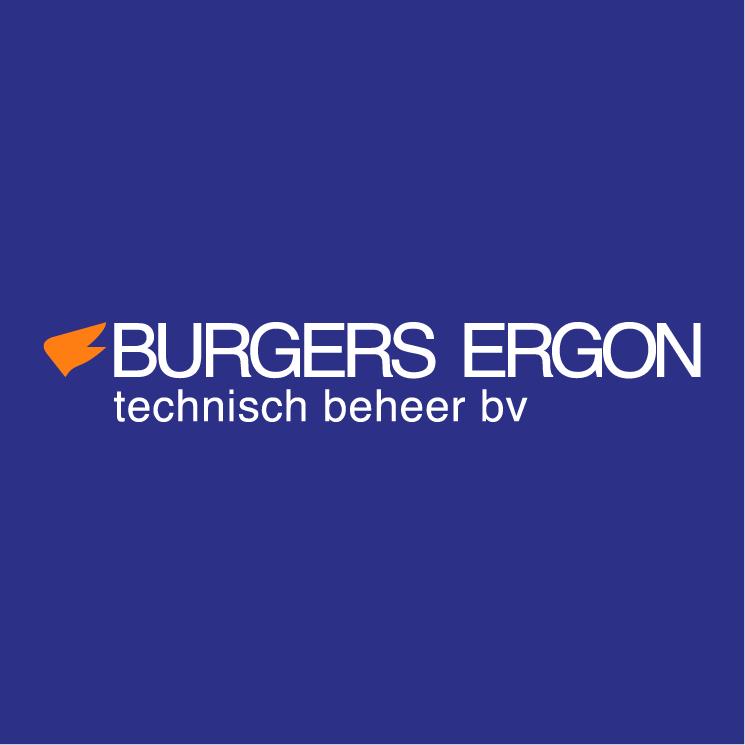 free vector Burgers ergon technisch beheer