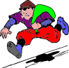 free vector Burgular Robber Theif clip art