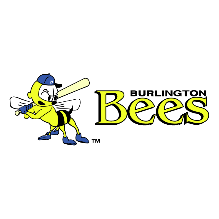 free vector Burlington bees