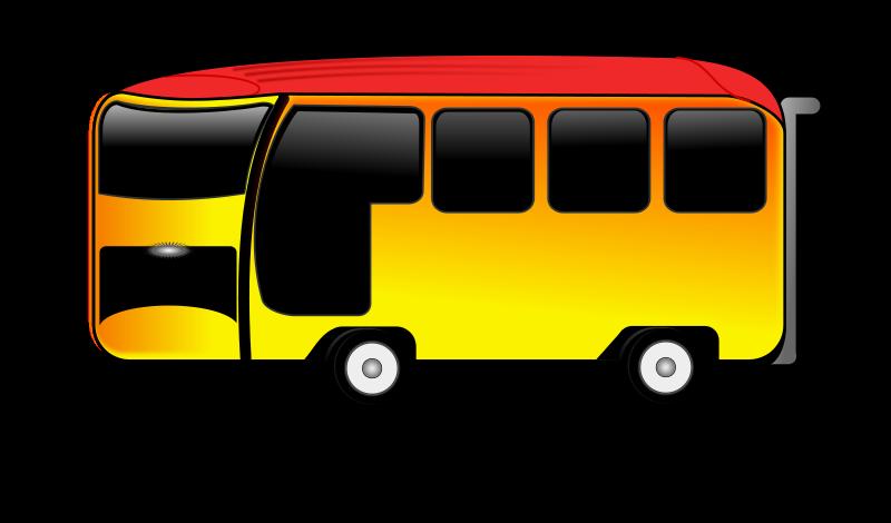 free vector Bus-cartoon