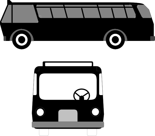 free vector Bus Transportation clip art