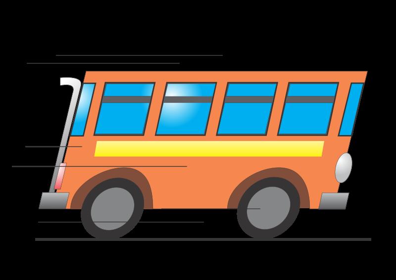 bus free vector 4vector rh 4vector com Yellow School Bus Clip Art Yellow School Bus Clip Art