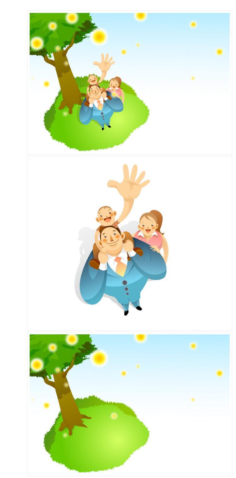 free vector Business cartoon 18 element vector material