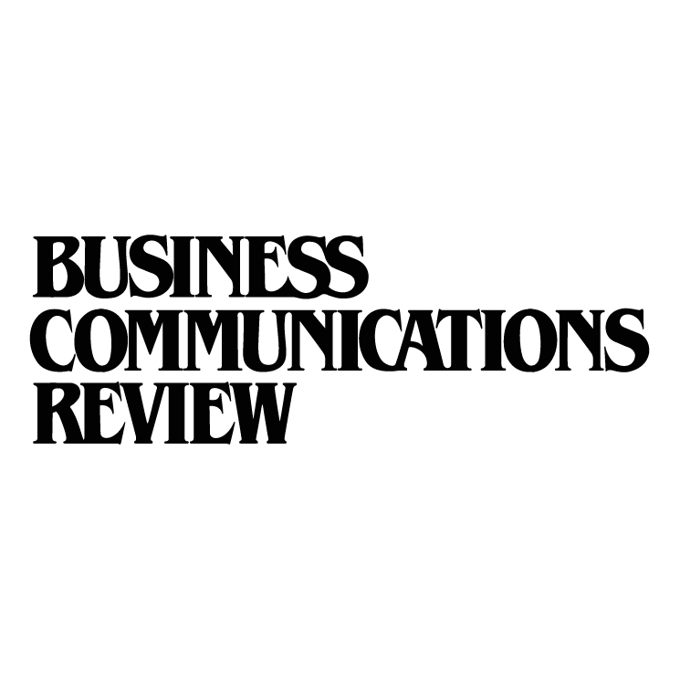 free vector Business communications review