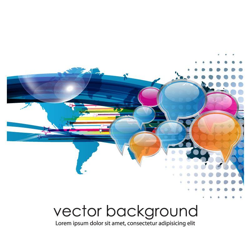 free vector Business concept dialog trend vector 1