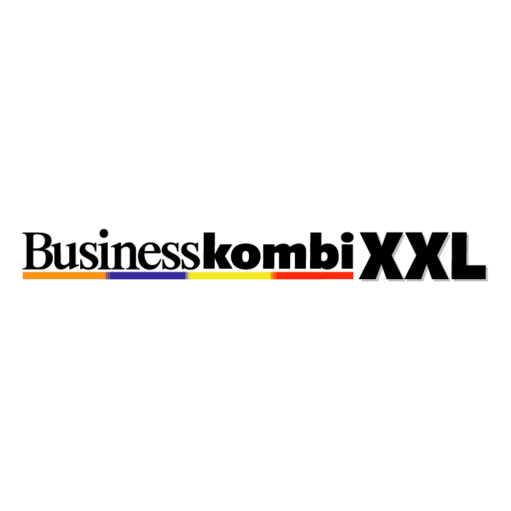 free vector Business kombi xxl