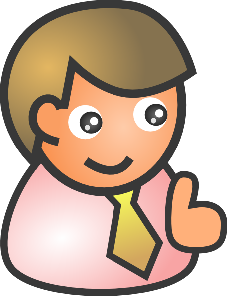 free vector Business Man Smiling clip art
