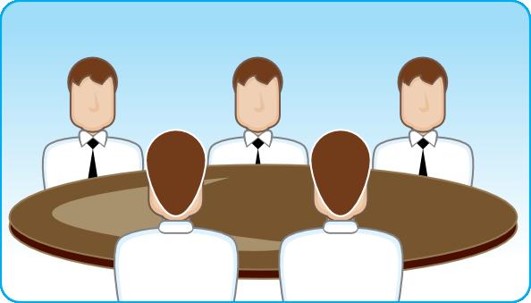 free vector Business Meeting clip art