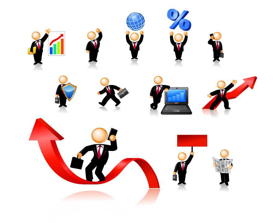 free vector Business Person of the icon image of the vector material