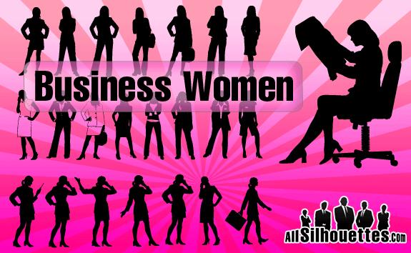 free vector Business Women