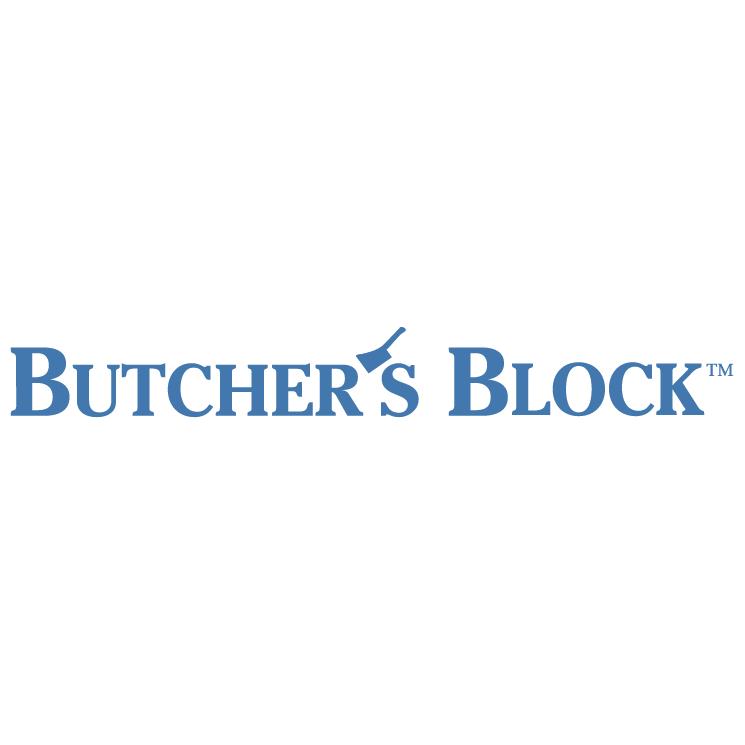 free vector Butchers block