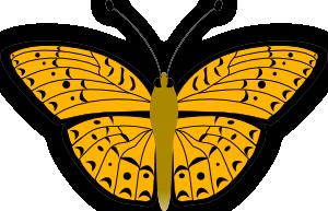 free vector Butterfly clip art 107795