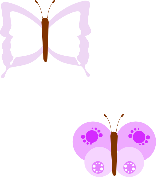 free vector Butterfly  clip art