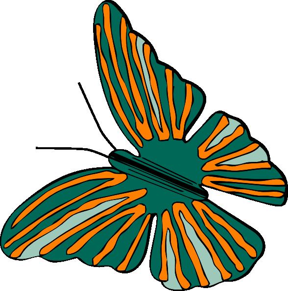 free vector Butterfly clip art