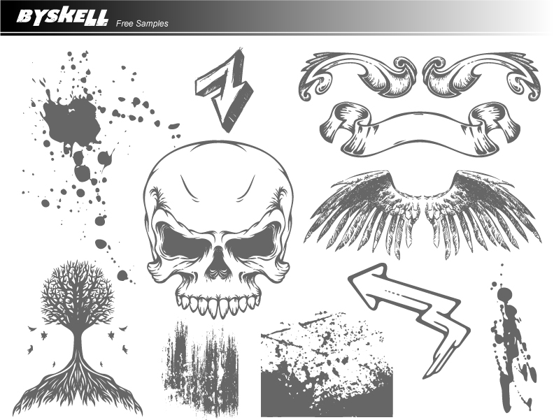 free vector  BySkell Free Samples