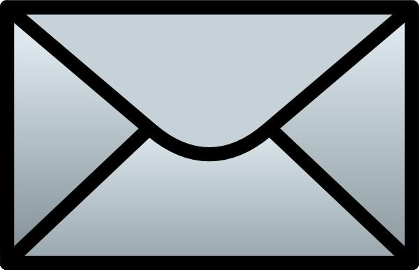 free vector C Schmitz Closed Envelope clip art