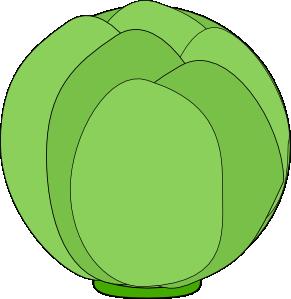 free vector Cabbage clip art
