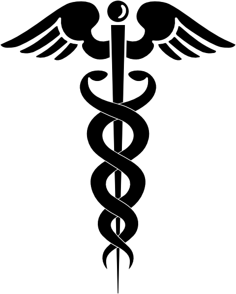 caduceus clip art free vector 4vector rh 4vector com medical caduceus clipart dental caduceus clipart