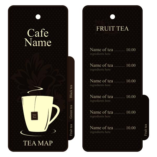 free vector Cafe menu vector