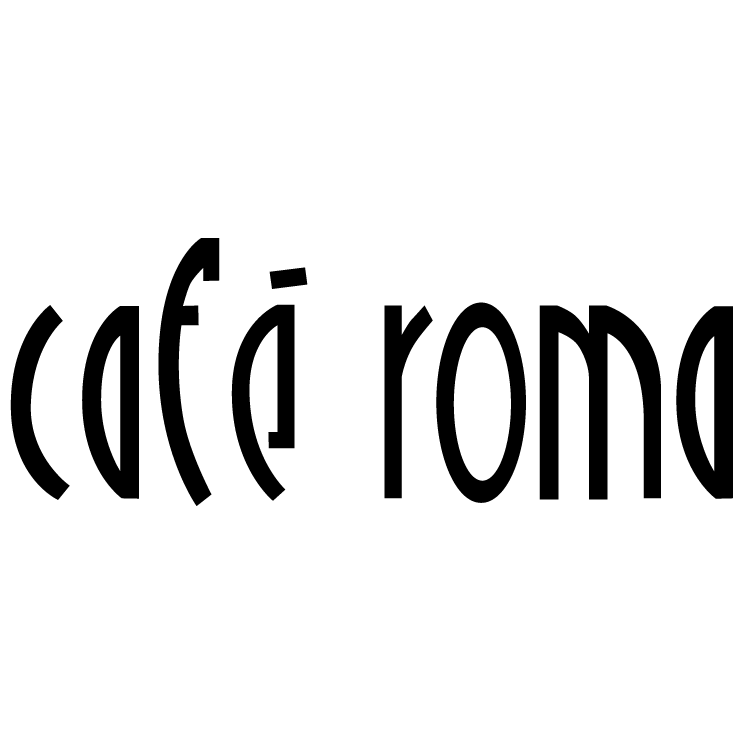 free vector Cafe roma