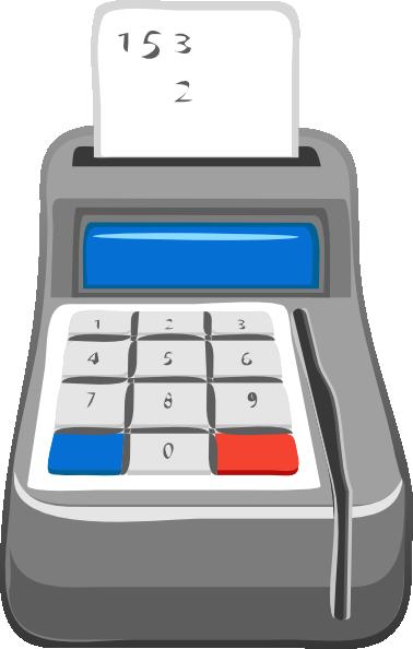 Calculator Clip Art Free Vector 4vector