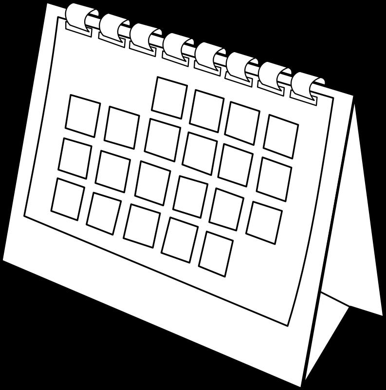 free vector Calendrier / calendar