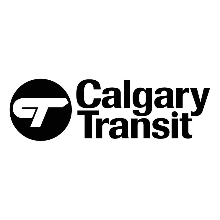 free vector Calgary transit