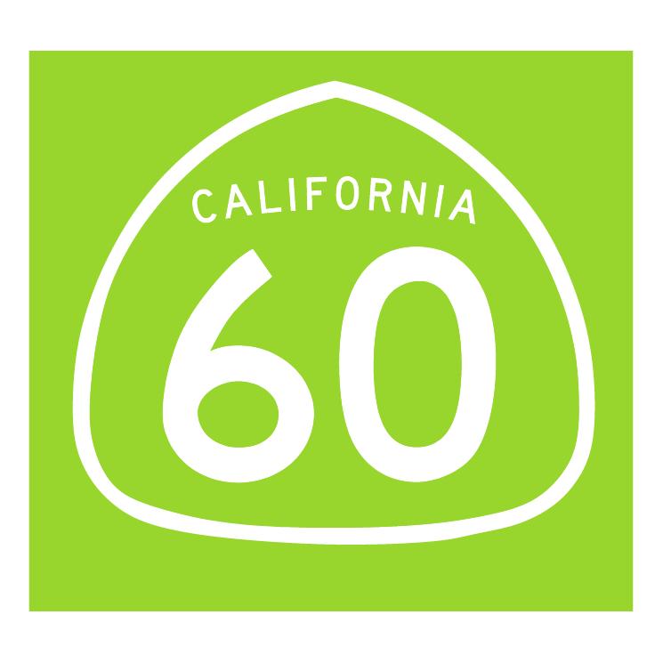 free vector California 60