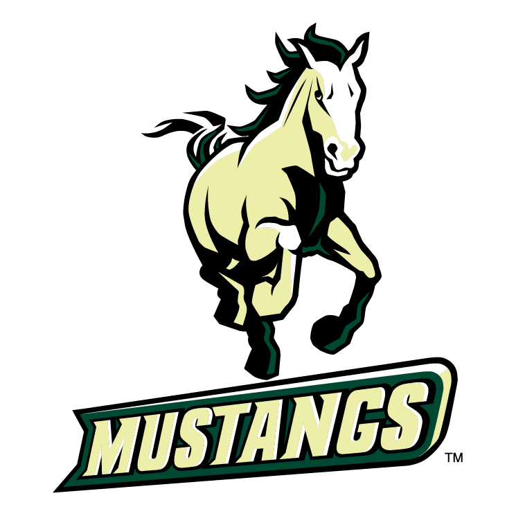 free vector California poly mustangs 0
