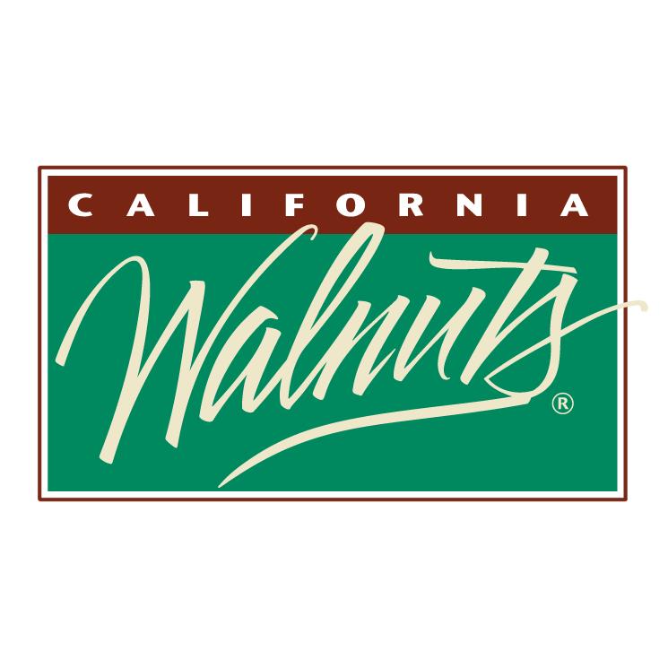 free vector California walnuts