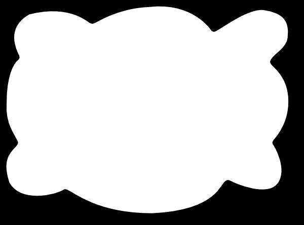 free vector Callout Cloud clip art