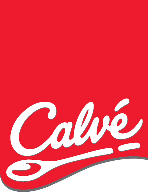 free vector Calve logo with red label