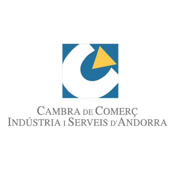 free vector Cambra de comerc industria i serveis dandorra