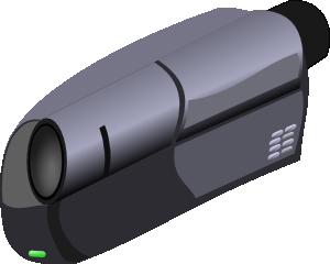 free vector Camcorder clip art