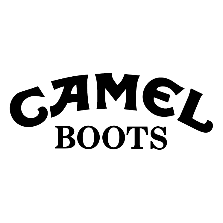 free vector Camel boots