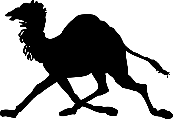 free vector Camel Silhouette clip art