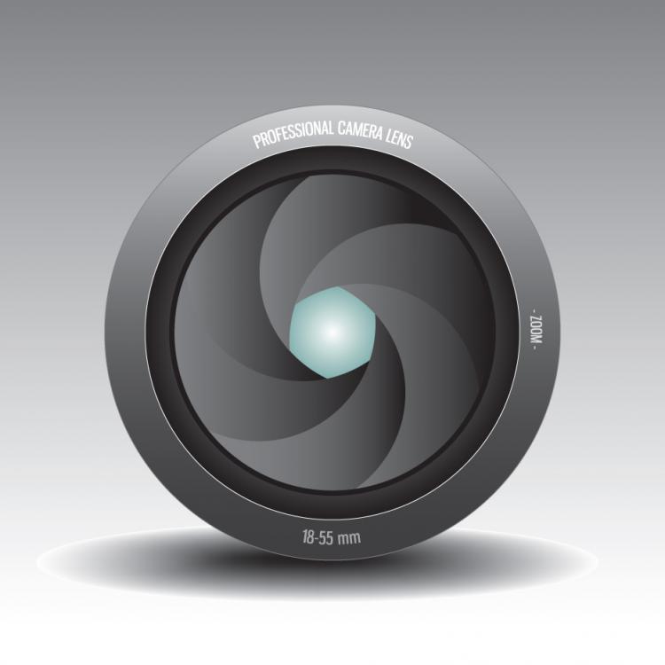 free vector Camera lens 04 vector