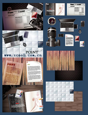 free vector Cameras notebooks newspapers magazines and other vector