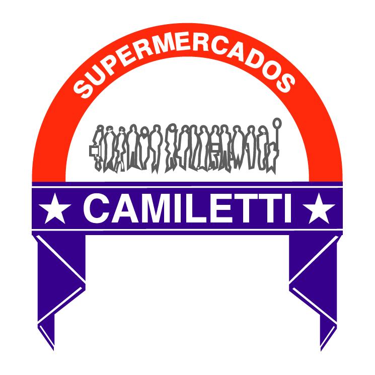 free vector Camiletti supermercados