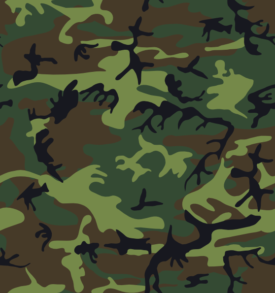 free vector Camouflage Pattern clip art