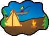 free vector Camping clip art