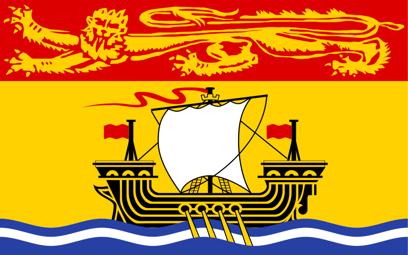 free vector Canada new brunswick