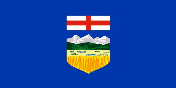 free vector CanadaAlberta clip art