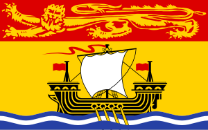 free vector CanadaNew Brunswick clip art