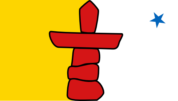 free vector CanadaNunavut clip art