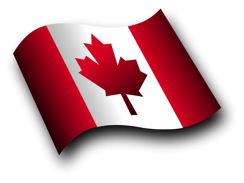 free vector Canadian Flag 3